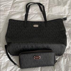 MK travel bag w/wallet